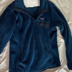 PATAGONIA Women's Navy Blue Fleece.